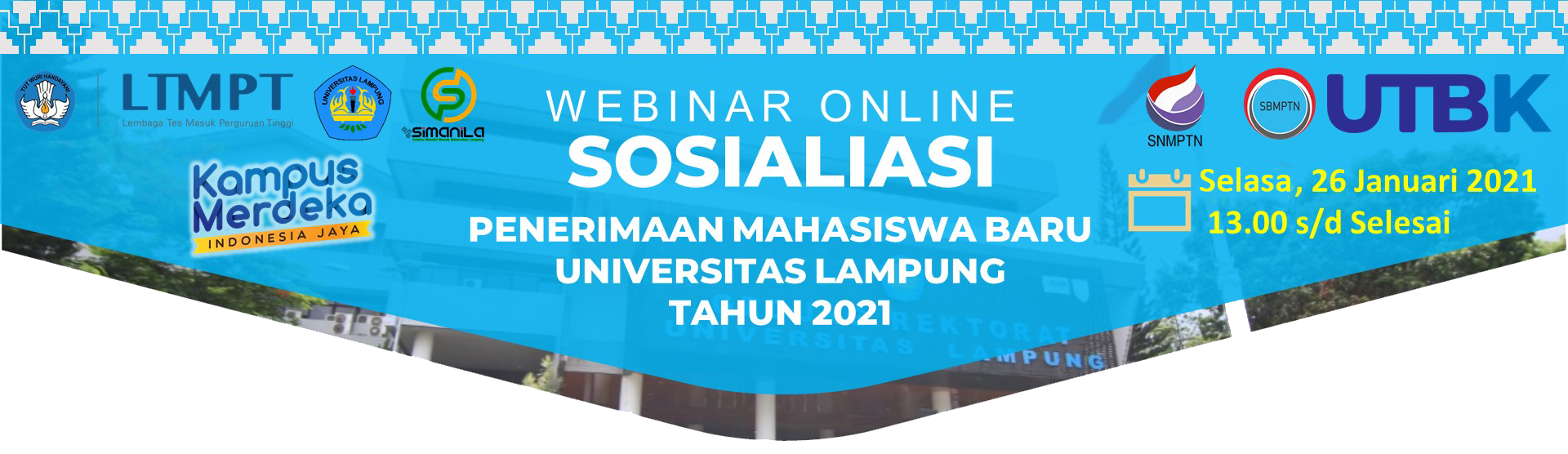 BP PMB – Universitas Lampung