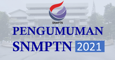 Pengumuman Lulus Seleksi Nasional Masuk Perguruan Tinggi Negeri (SNMPTN) 2021