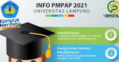 Informasi Penerimaan Program PMPAP Tahun 2021